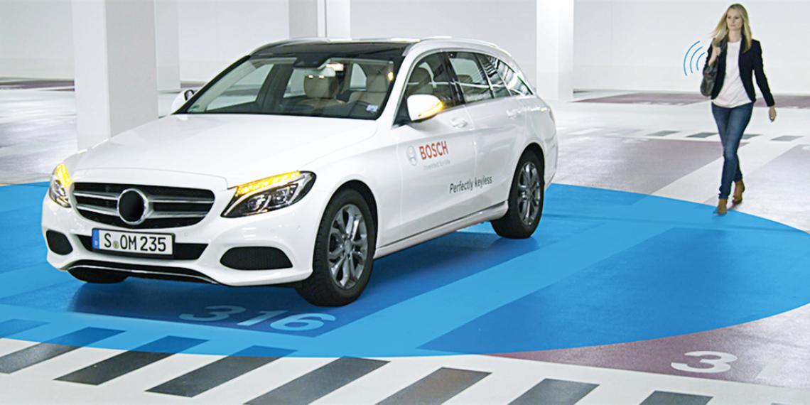 Система Bosch превращает смартфон в ключ от автомобиля