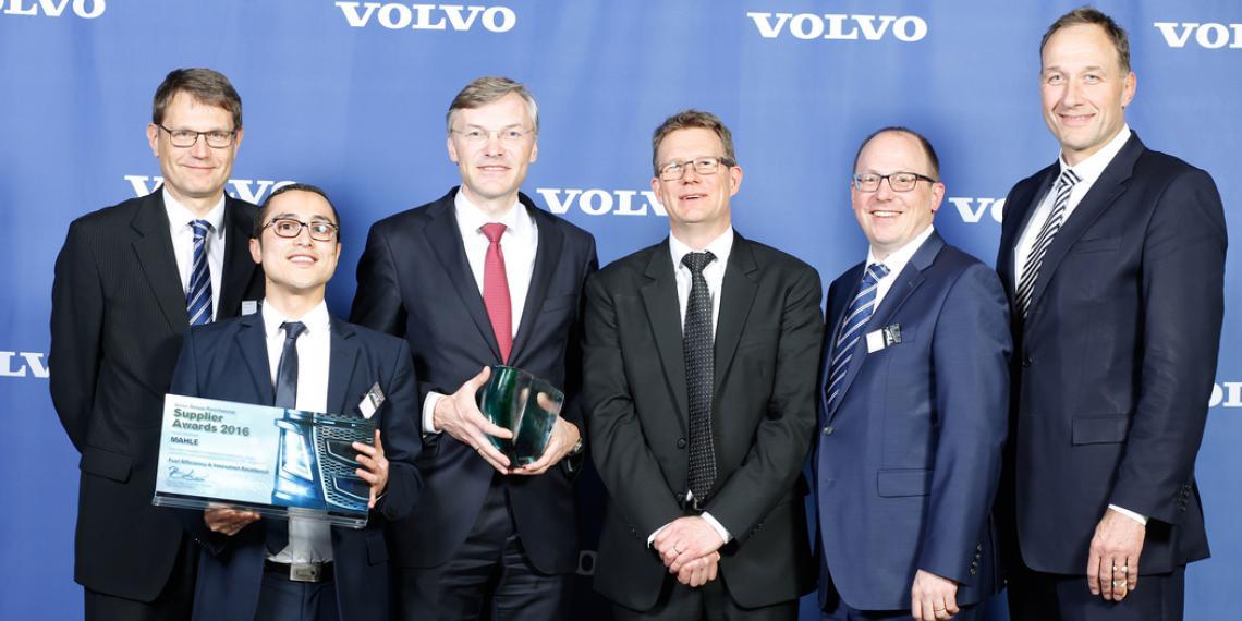 MAHLE отметили на премии Volvo Supplier Award