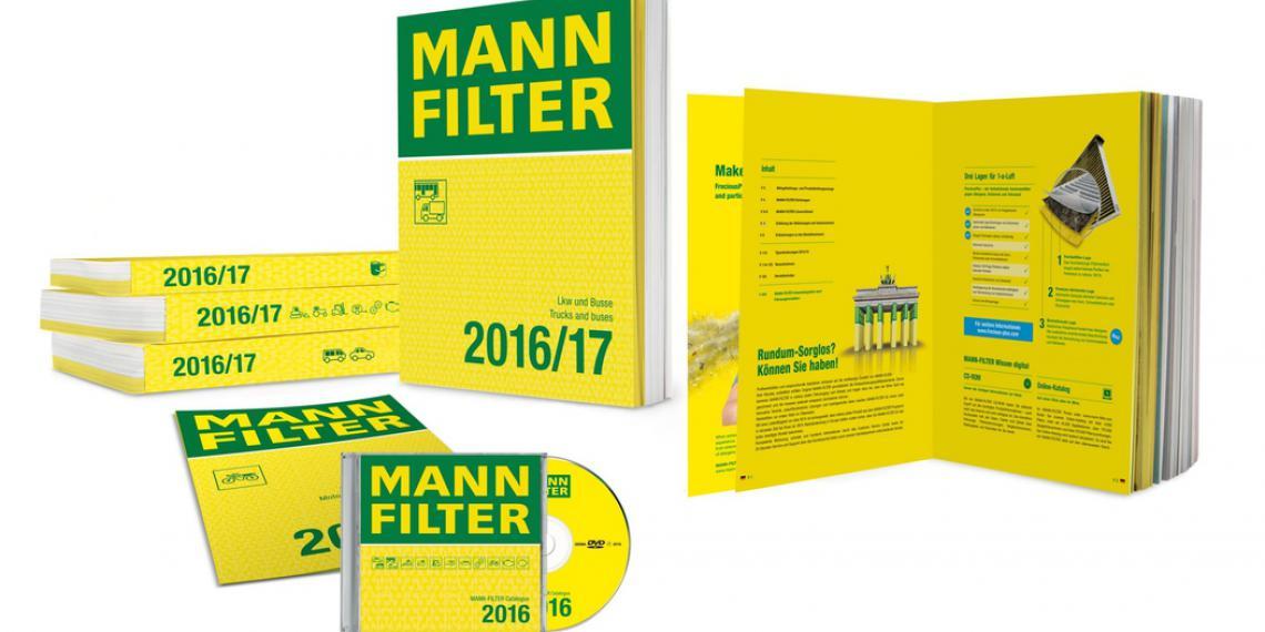 Новый комплект каталогов MANN-FILTER