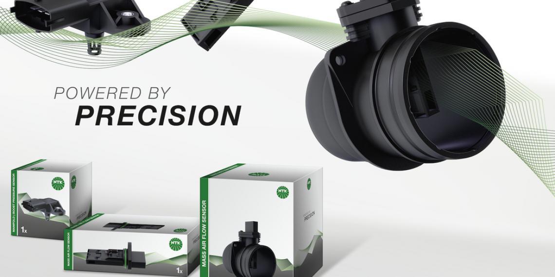NGK Spark Plug выпустила ассортимент датчиков под брендом NTK Vehicle Electronics