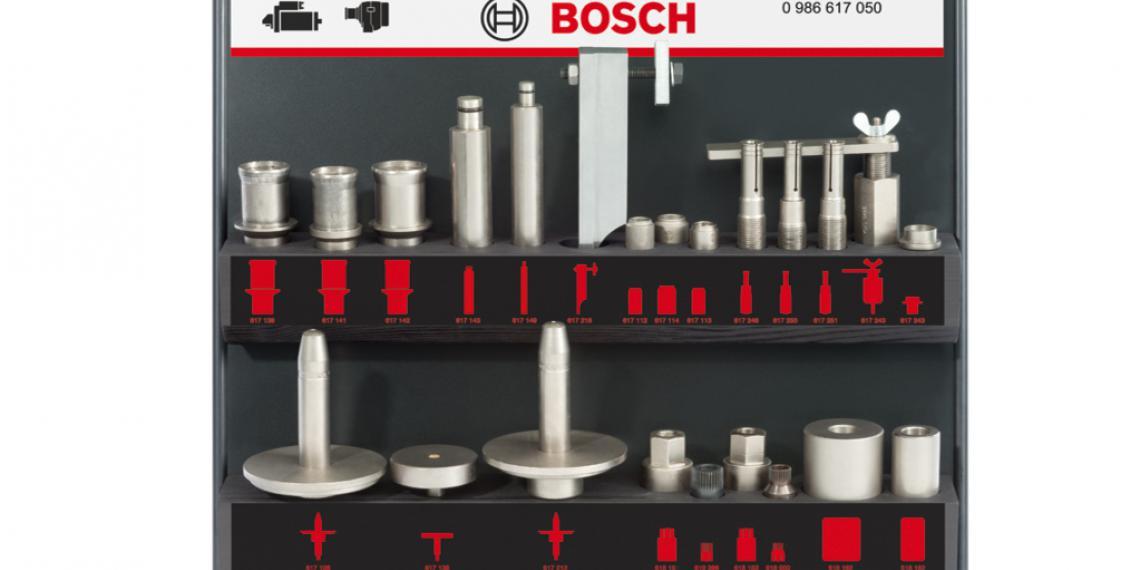 Новые комплекты Bosch для диагностики и ремонта