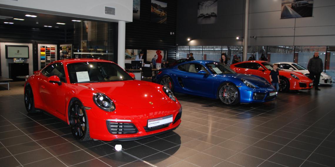 Как лечат Porsche