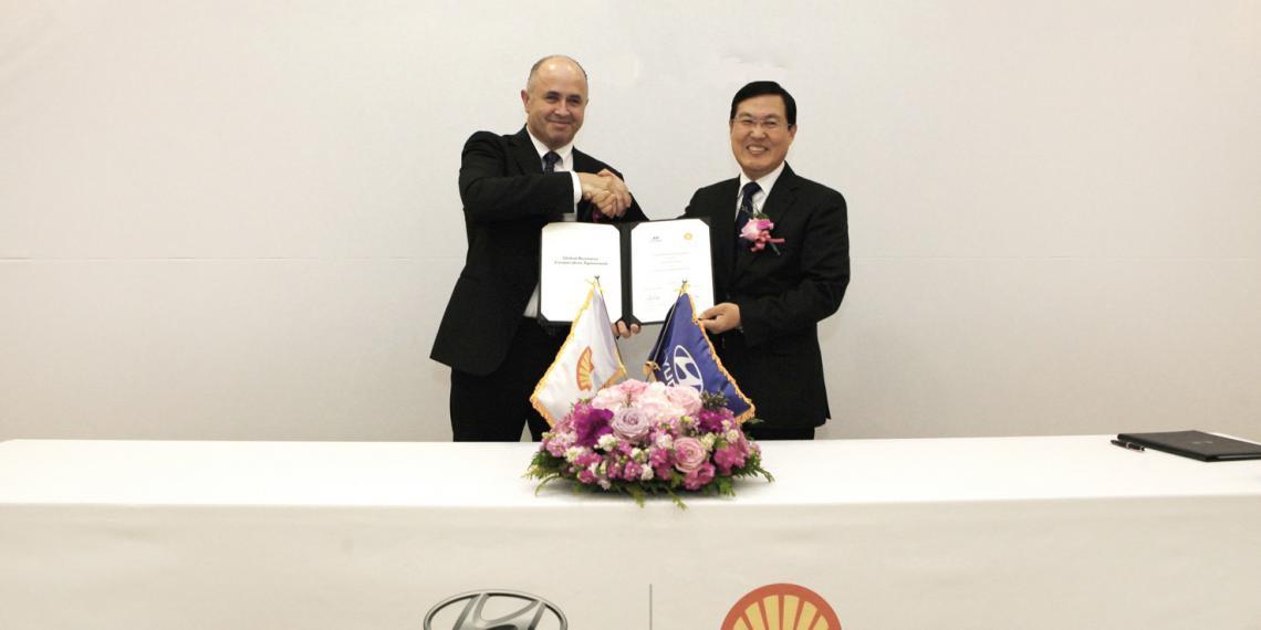 Hyundai и Shell продлили договор