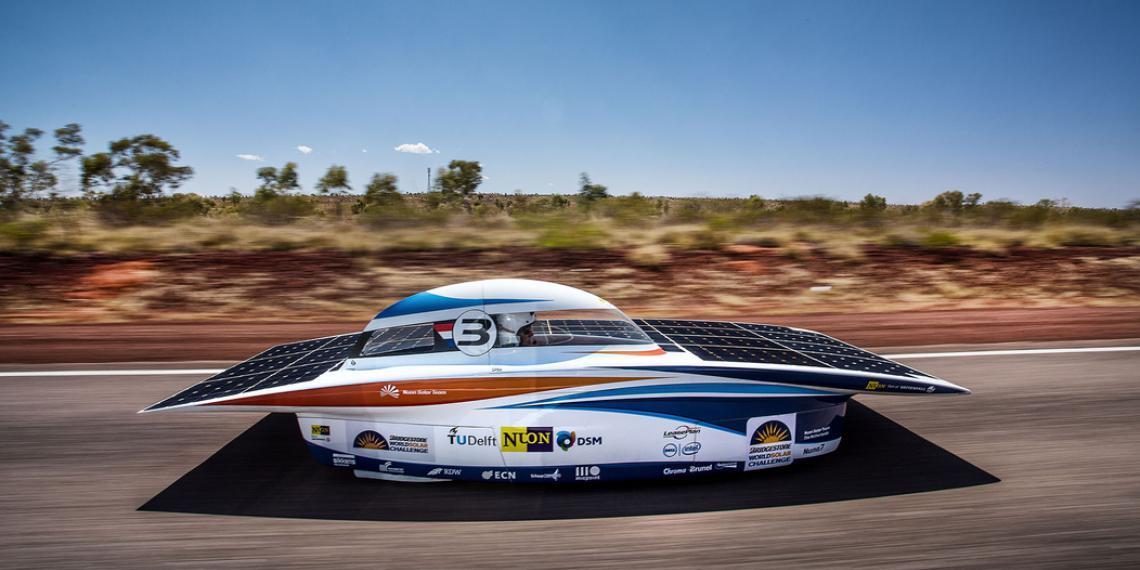 Bridgestone титульный спонсор гонки World Solar Challenge
