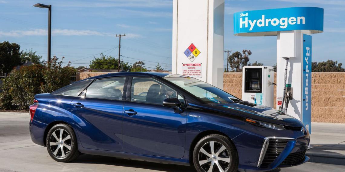 Выход водородных автомобилей уже не за горами
