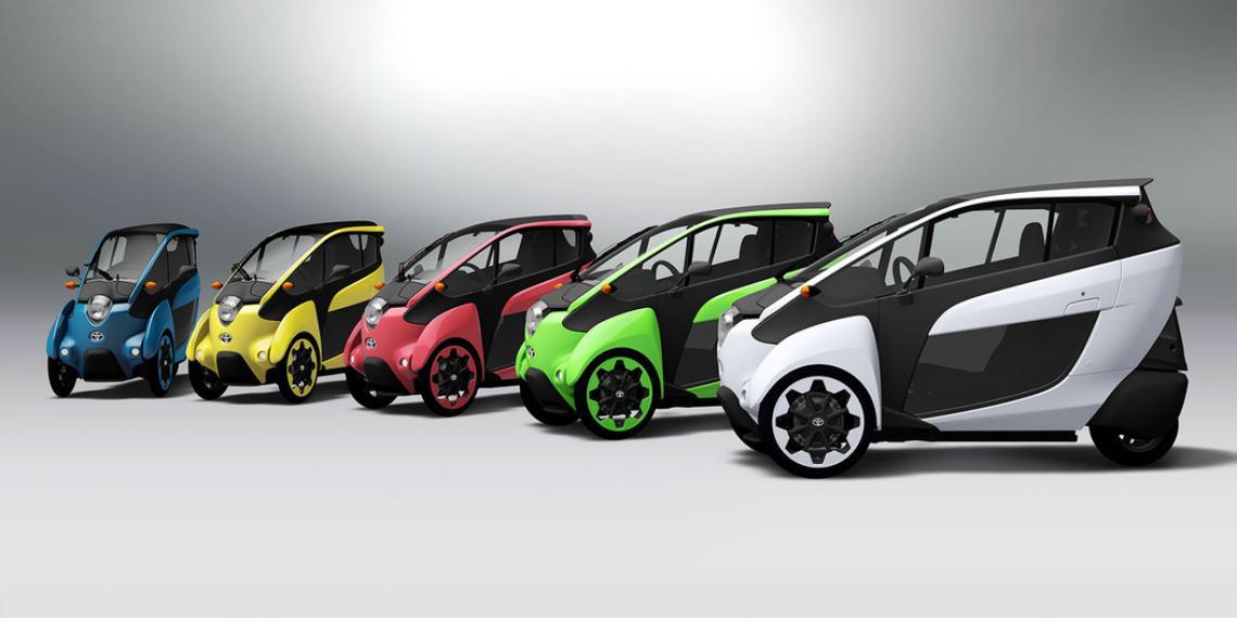 Трехколесная машина - транспорт будущего