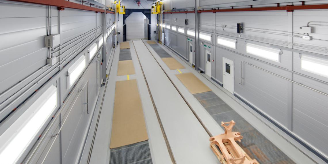 Технология покраски Dürr для скоростных поездов