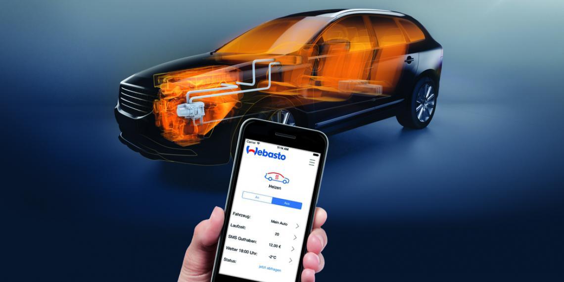 Новая система Webasto прогреет автомобиль дистанционно